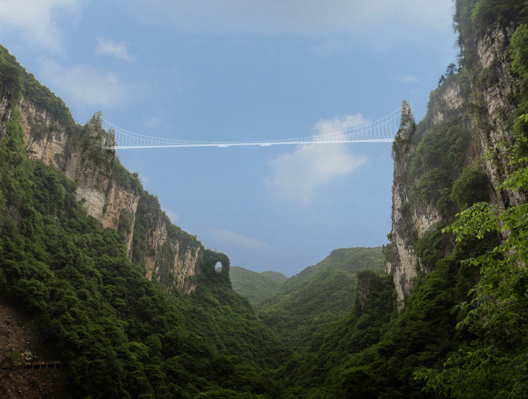 This Week in Travel: The World's Most Terrifying Glass Bridge is Now Open