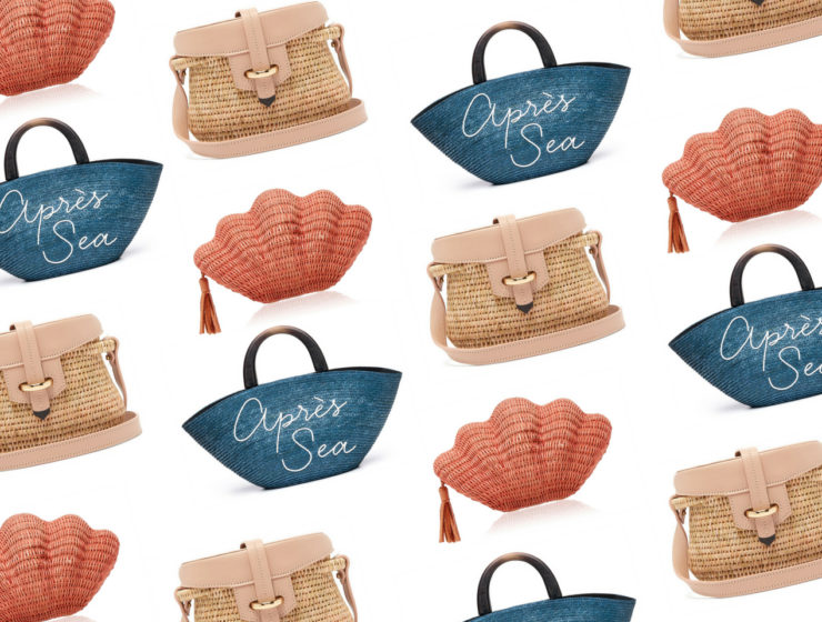 Basket bags for the summer
