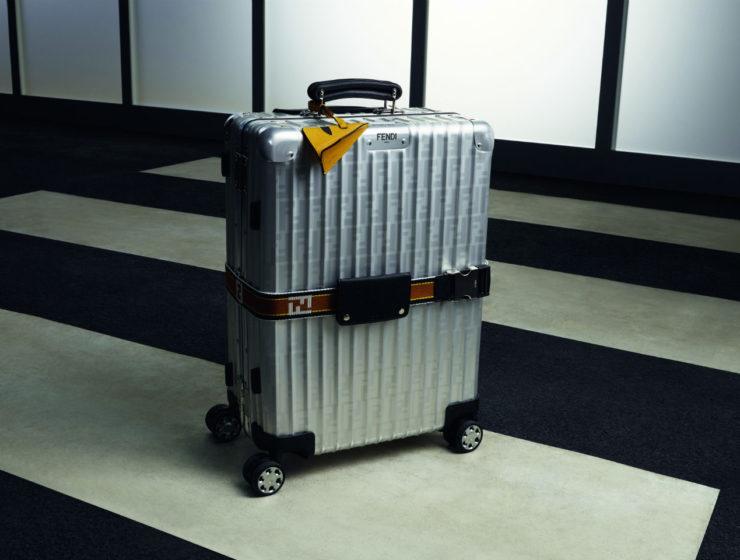 Fendi x Rimowa suitcase