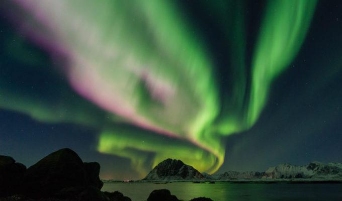 Aurora borealis northern lights by Johannes Groll