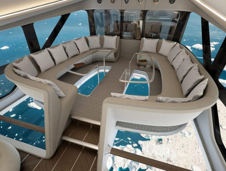 Airlander 10 interiors