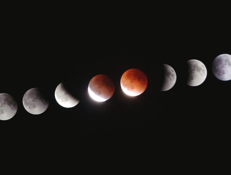 Longest lunar eclipse in the century