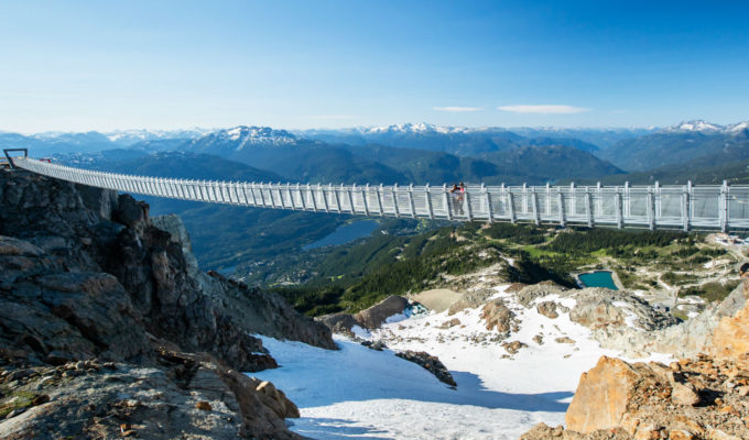 Cloudraker Skybridge on Whistler Mountain, Canada