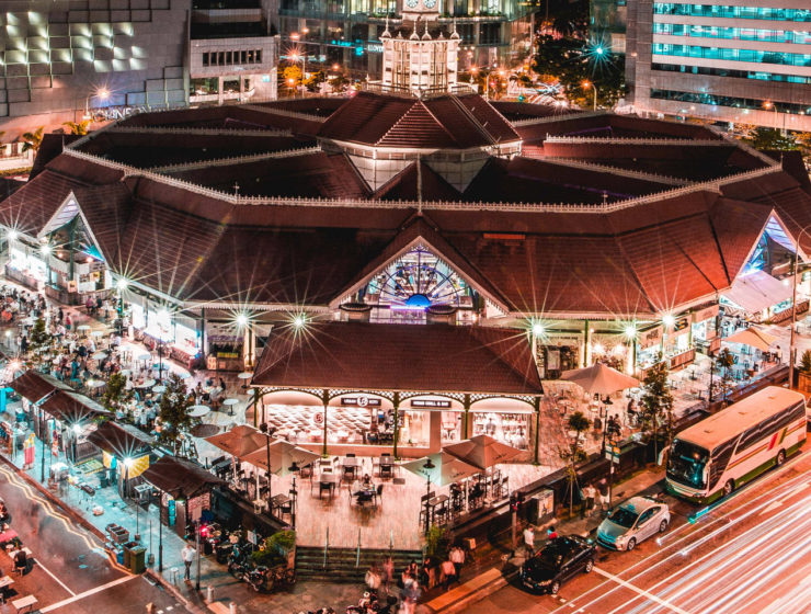 UNESCO food Lau Pa Sat Telok Ayer Market Singapore food court