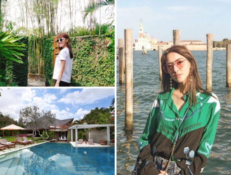 Grace Chan in Bali Villa Sin Sin