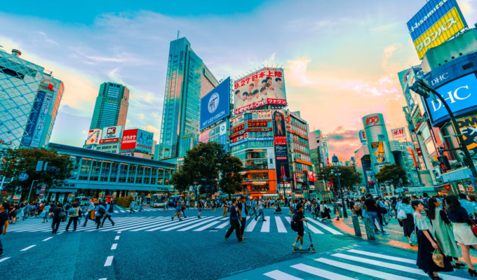 Beauty shopping in Tokyo