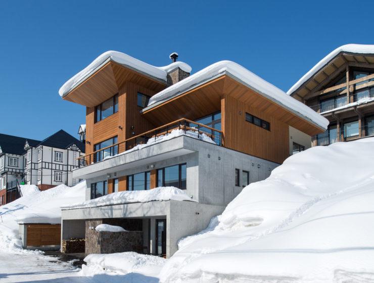 Hakuchozan Niseko ski chalet Hokkaido Japan