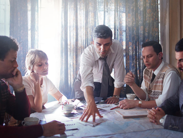 Oscar Isaac in Operation Finale Netflix