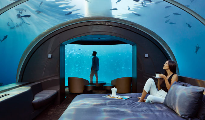 Conrad Maldives Rangali Island Muraka underwater