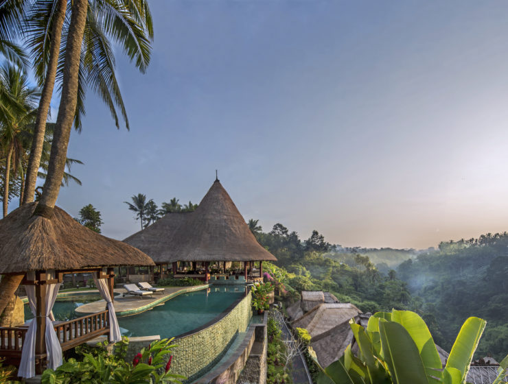 Sunrise at Viceroy Bali Main Pool