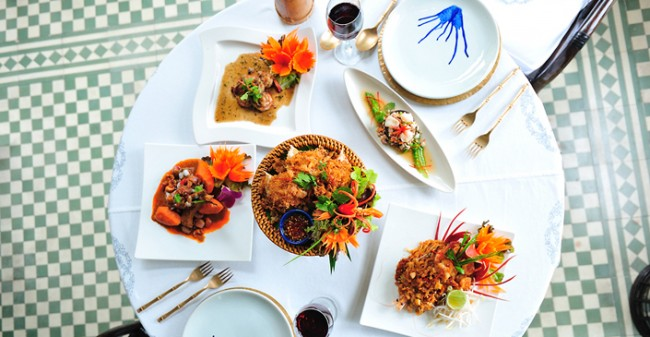 Dishes from Blue Elephant
