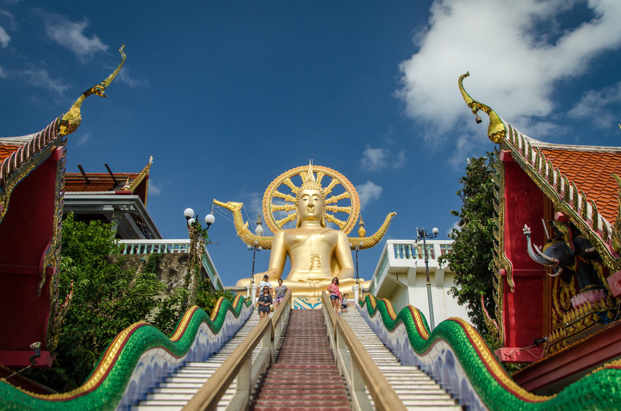 A photo from the Big Buddha in Samui, Thailand