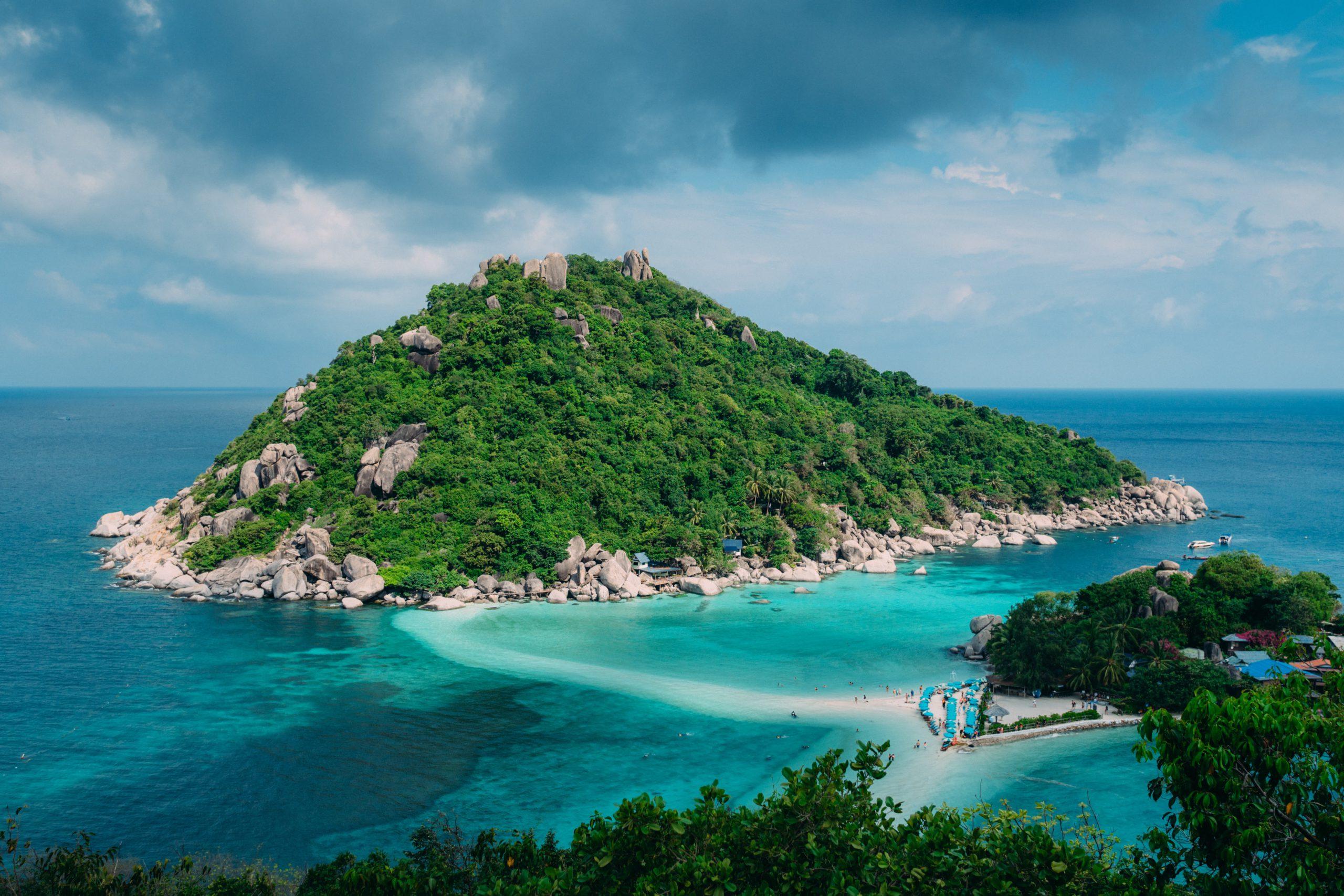 Photo of Koh Samui, an island in Thailand.
